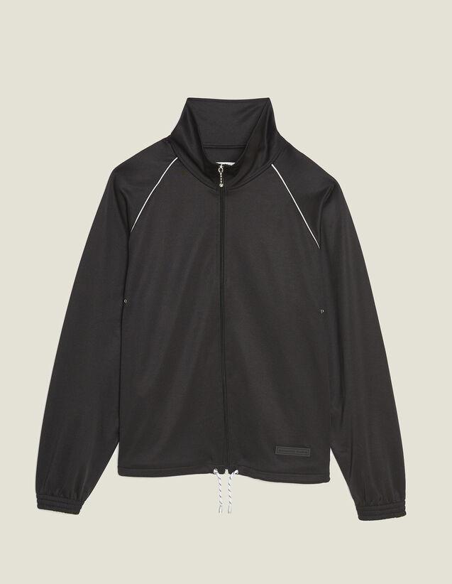 Veste De Jogging : Sweats couleur Noir