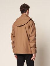 Deckjacket En Coton : Trenchs & Manteaux couleur Marine