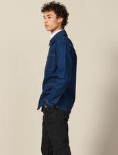 Veste De Travail En Denim : Nouvelle Collection couleur Blue Vintage - Denim