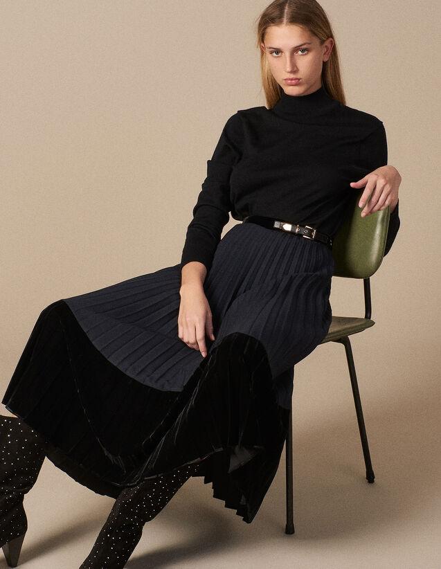 f64619c9866d1 Jupes   Shorts pour Femme - la collection de Jupes   Shorts   Sandro ...