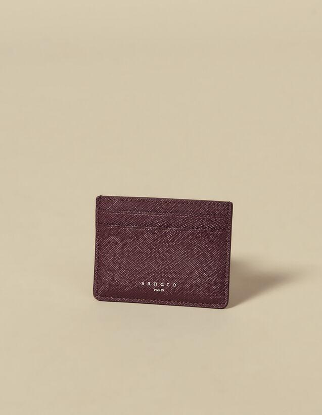 Porte-cartes en cuir : Porte-cartes & Portefeuilles couleur Marine