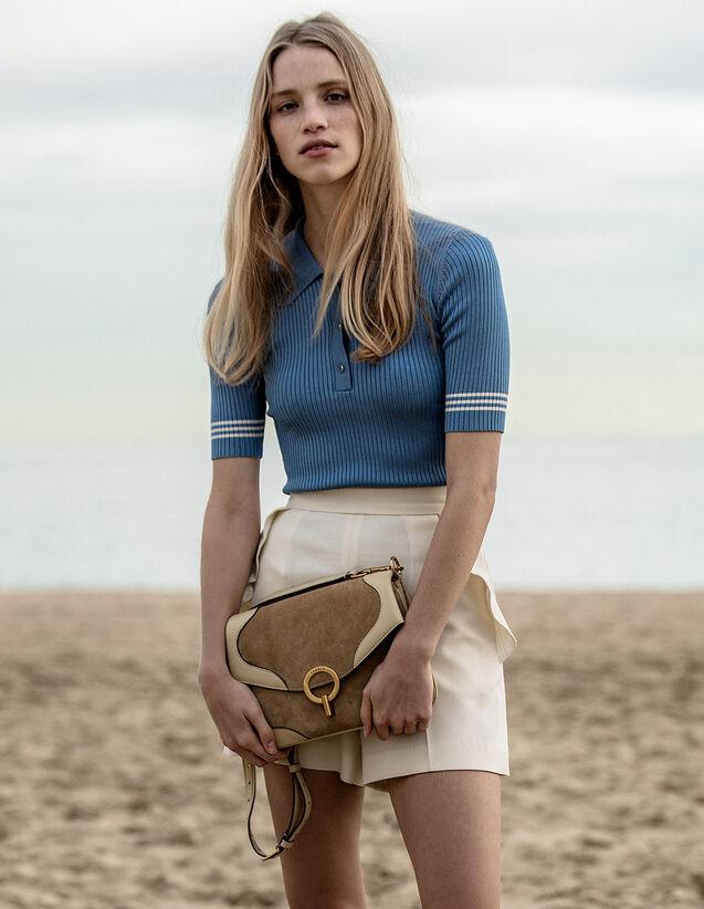 Pull Esprit Polo : Pulls & Cardigans couleur Bleu jean
