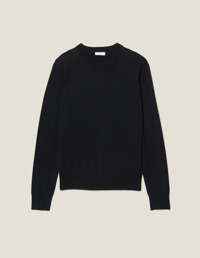 Pull Laine Merinos : Pulls & Cardigans couleur Marine