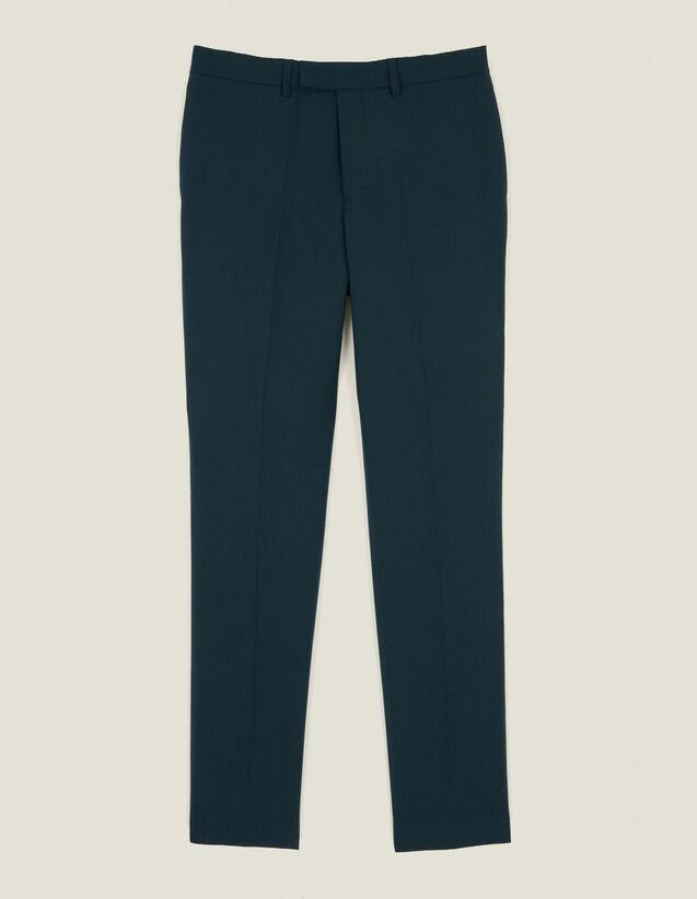 Pantalon de costume : Costumes & Smokings couleur Vert foncé