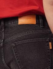 Bermuda En Jean : Pantalons & Shorts couleur Noir