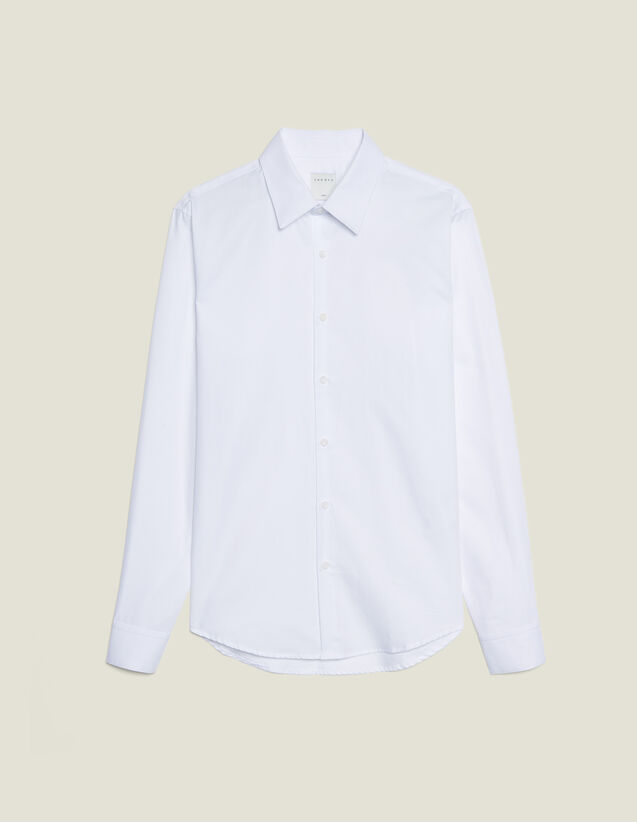 Chemise Formelle Oxford : Chemises couleur blanc