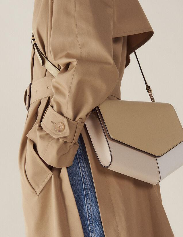 Sac Lou Grand Modèle : Collection Été couleur Beige/Blanc/Ecru