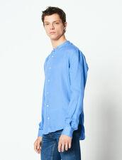 Chemise Col Mao En Lin : Chemises couleur Ecru