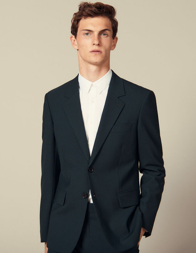 Veste de costume : Toute la collection Hiver couleur Vert foncé