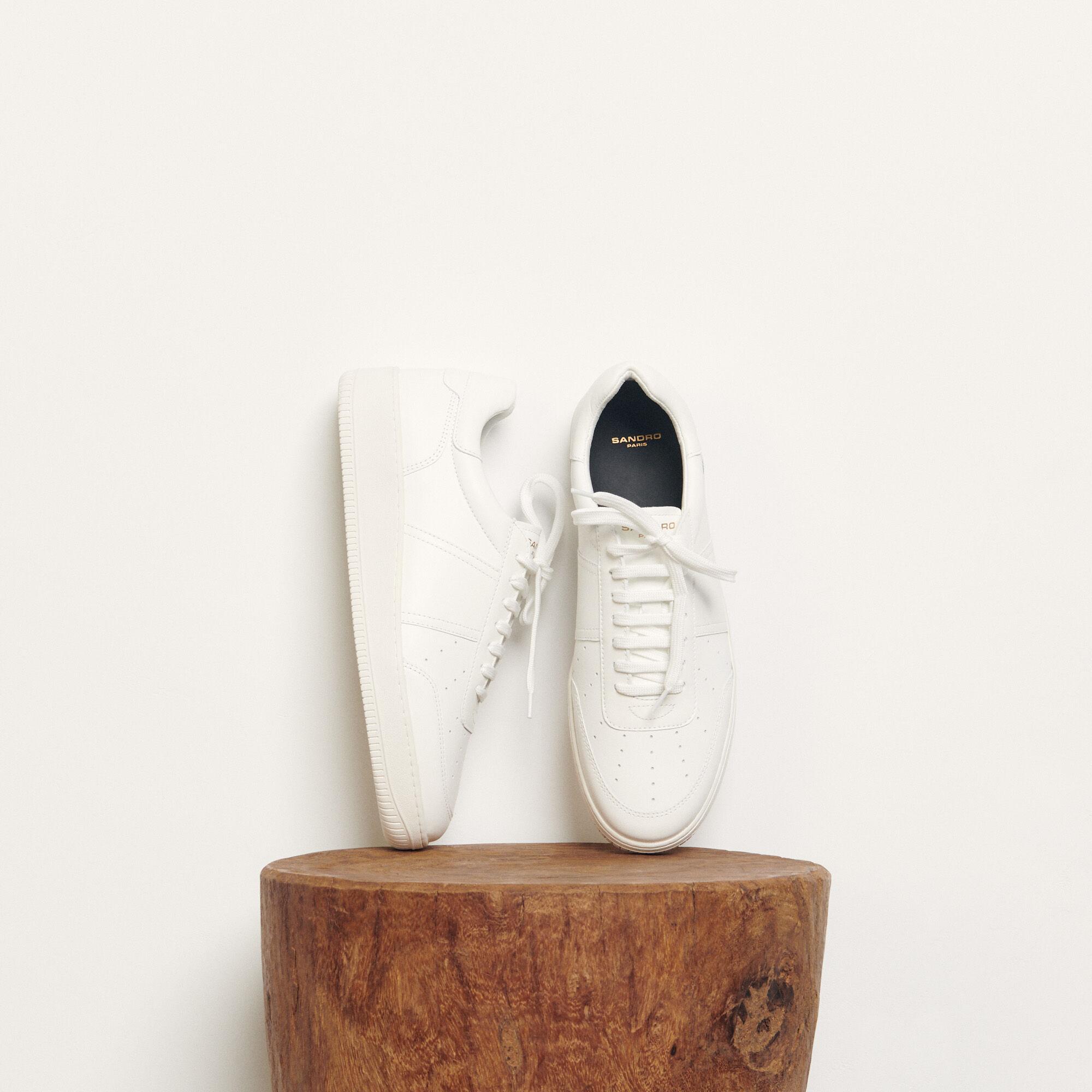 sandro basket beige