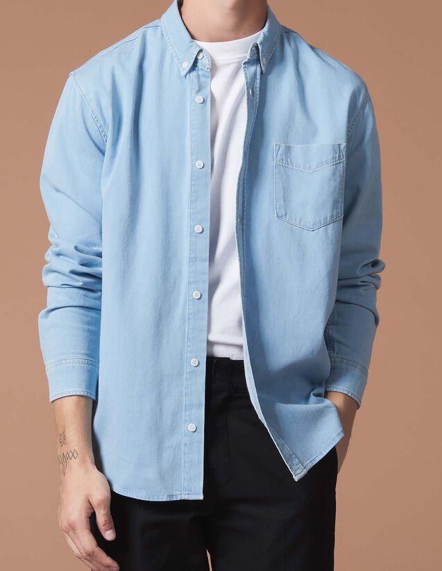 ec10a360ec4d Chemises pour Homme - la collection de Chemises   Sandro Homme Paris