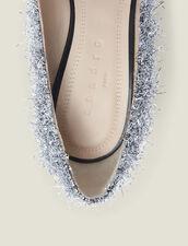 Escarpins à décolleté V : Chaussures couleur Argent