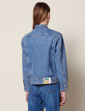 Veste En Jean Fit Masculin : Sélection Last Chance couleur Blue Vintage - Denim