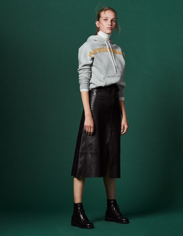 8bad43f00ad03 Jupes   Shorts pour Femme - la collection de Jupes   Shorts   Sandro ...