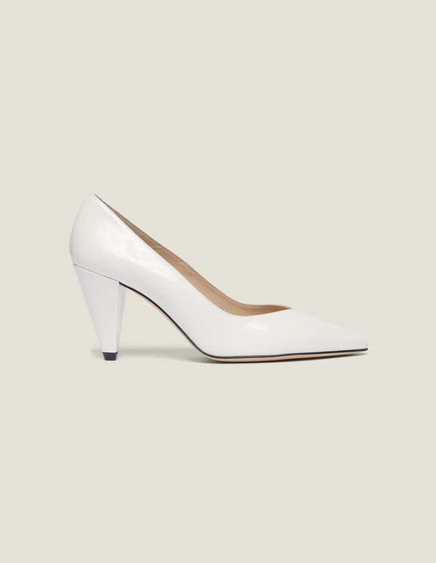 Escarpins En Cuir Glacé : Toutes les Chaussures couleur Blanc