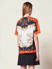 T-Shirt Imprimé Placé : T-shirts couleur Multicolore