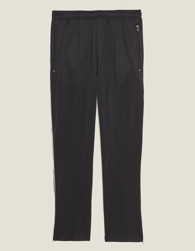 Pantalon De Jogging Esprit Trackpant : Pantalons & Shorts couleur Noir