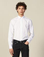 Chemise Formelle Non Iron : Chemises couleur Blanc