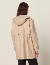 Parka En Coton : Manteaux couleur Beige