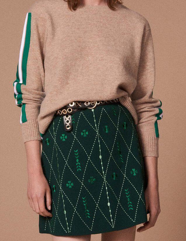 8dfa26f93d434 Jupes   Shorts pour Femme - la collection de Jupes   Shorts   Sandro ...