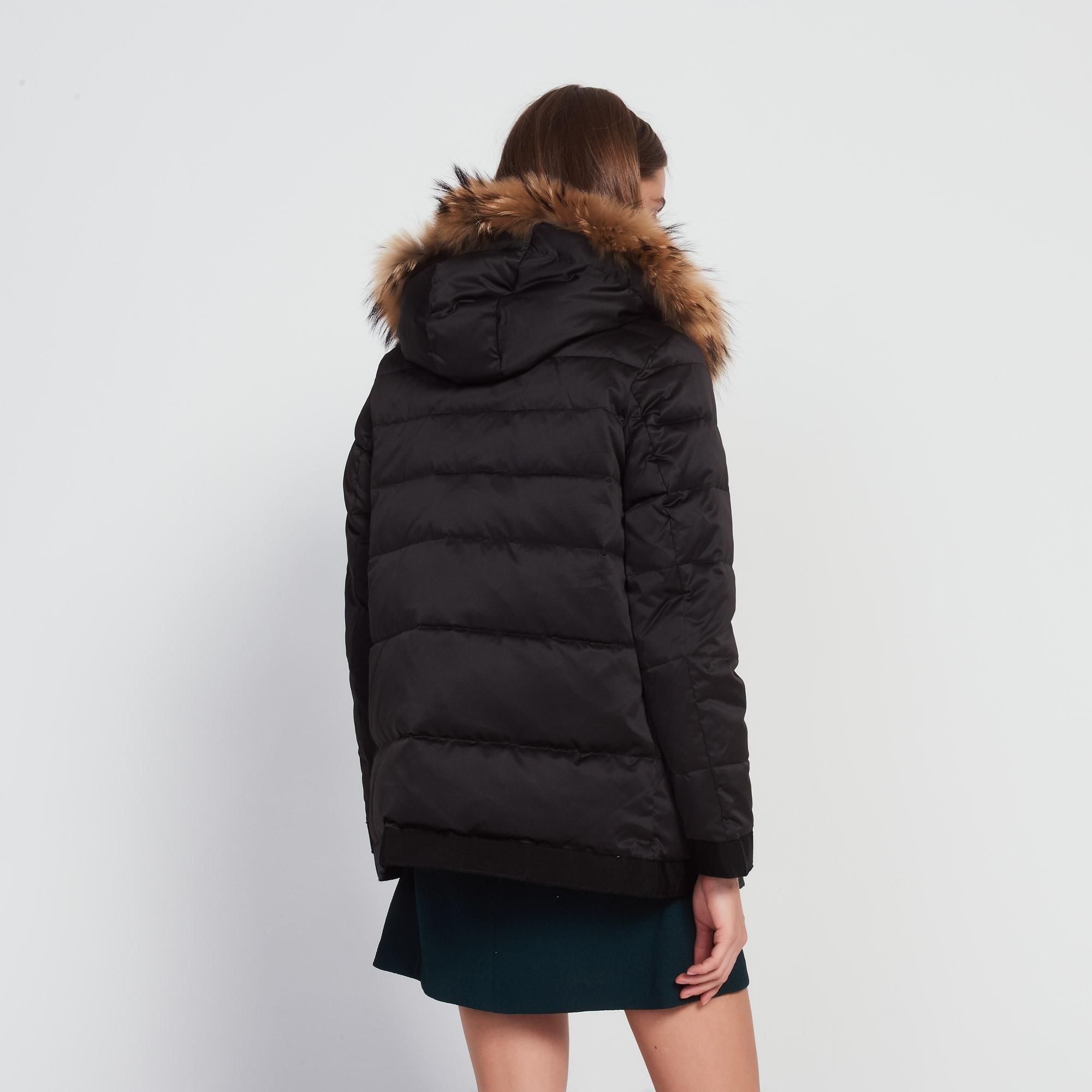 manteau avec d tails en gros grain m9592h vente au personnel sandro paris. Black Bedroom Furniture Sets. Home Design Ideas