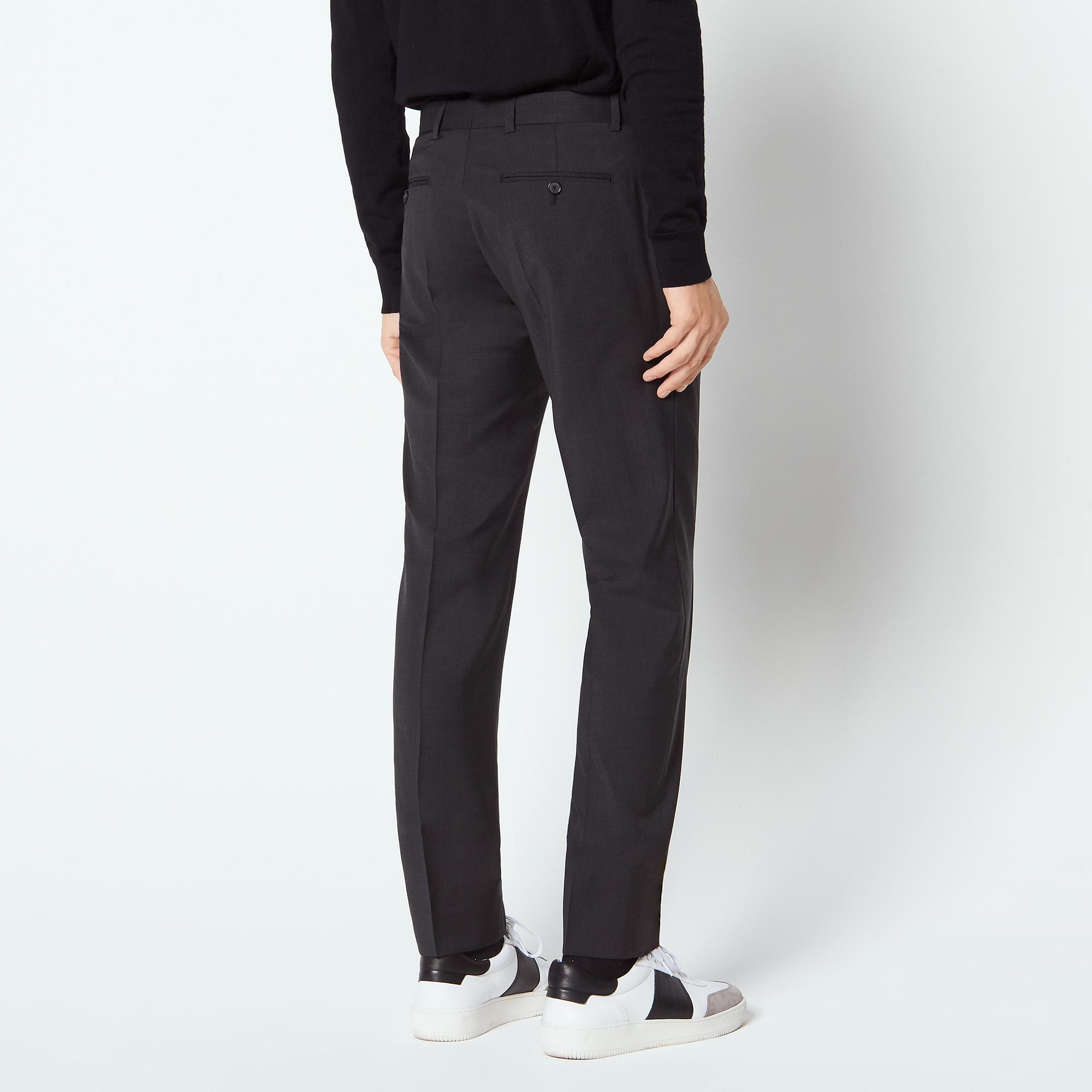 pantalon de costume en laine vierge p6276w costumes smokings sandro paris. Black Bedroom Furniture Sets. Home Design Ideas