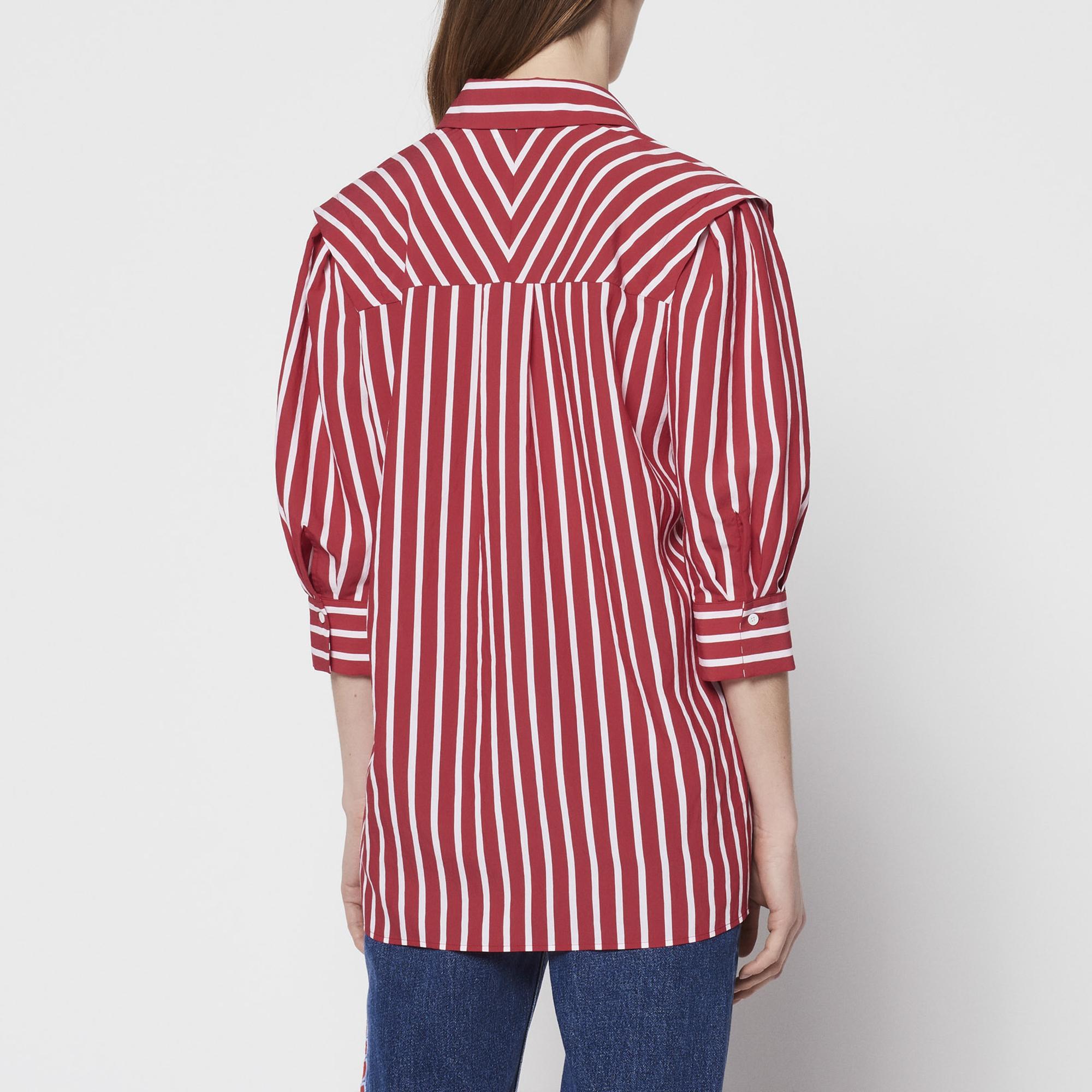 9a8eb0241f3d0 ... Rouge Cerise · Top à rayures : Collection Été couleur ...