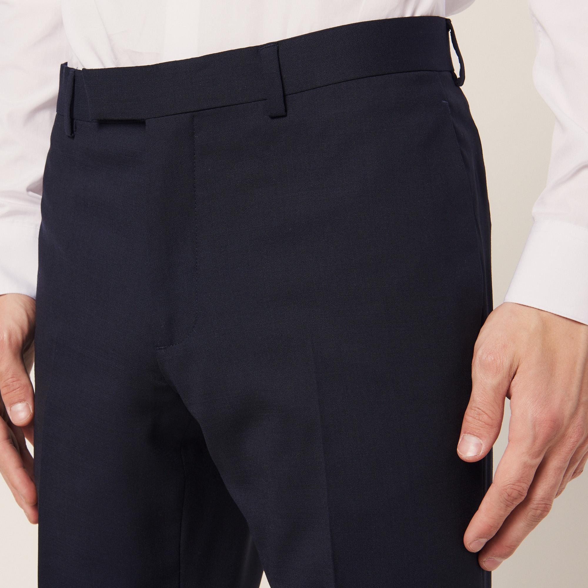 pantalon de costume slim fit en laine p5766s costumes smokings sandro paris. Black Bedroom Furniture Sets. Home Design Ideas