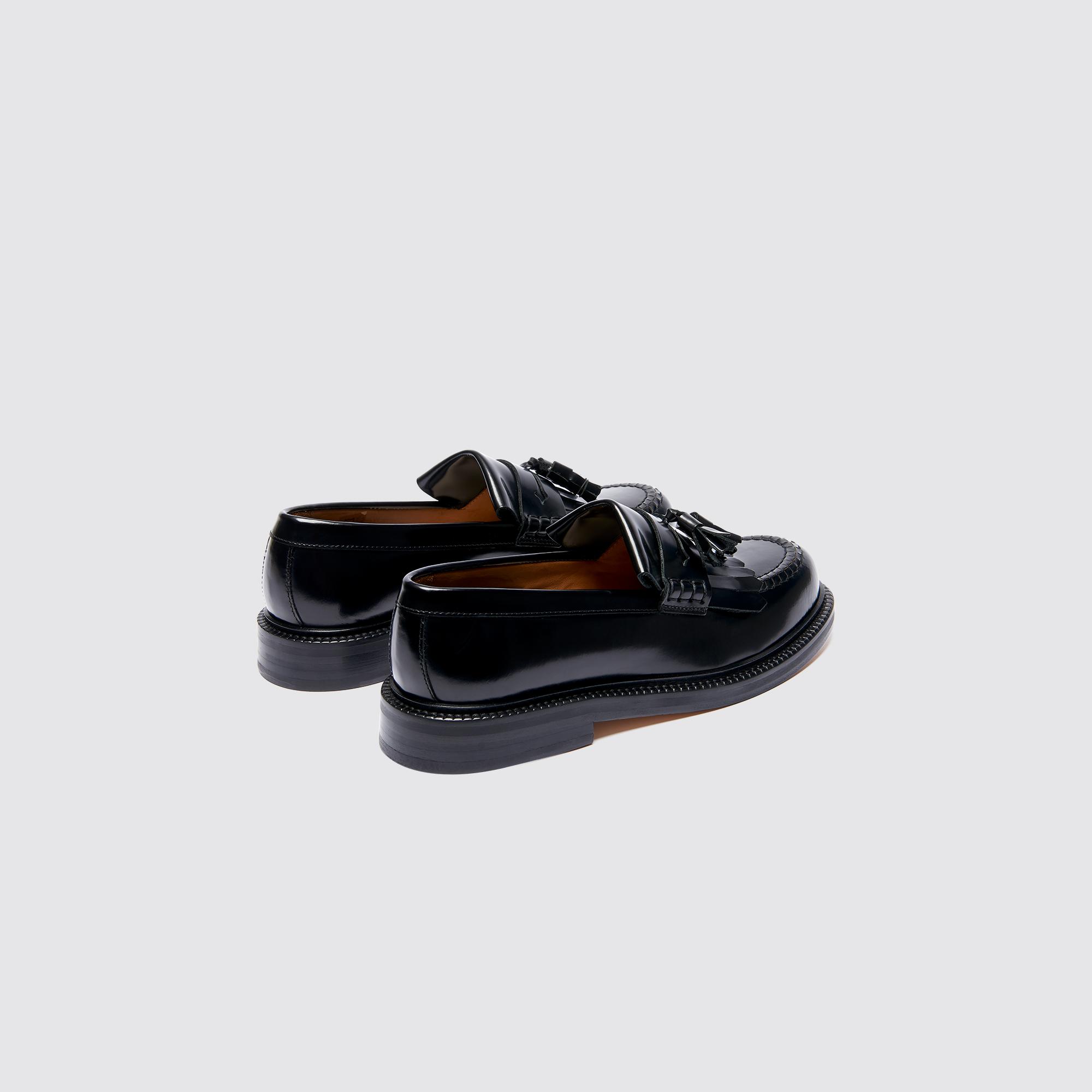 Sandro en Chaussures glacé Mocassins CH1397W Paris cuir SBpXwX