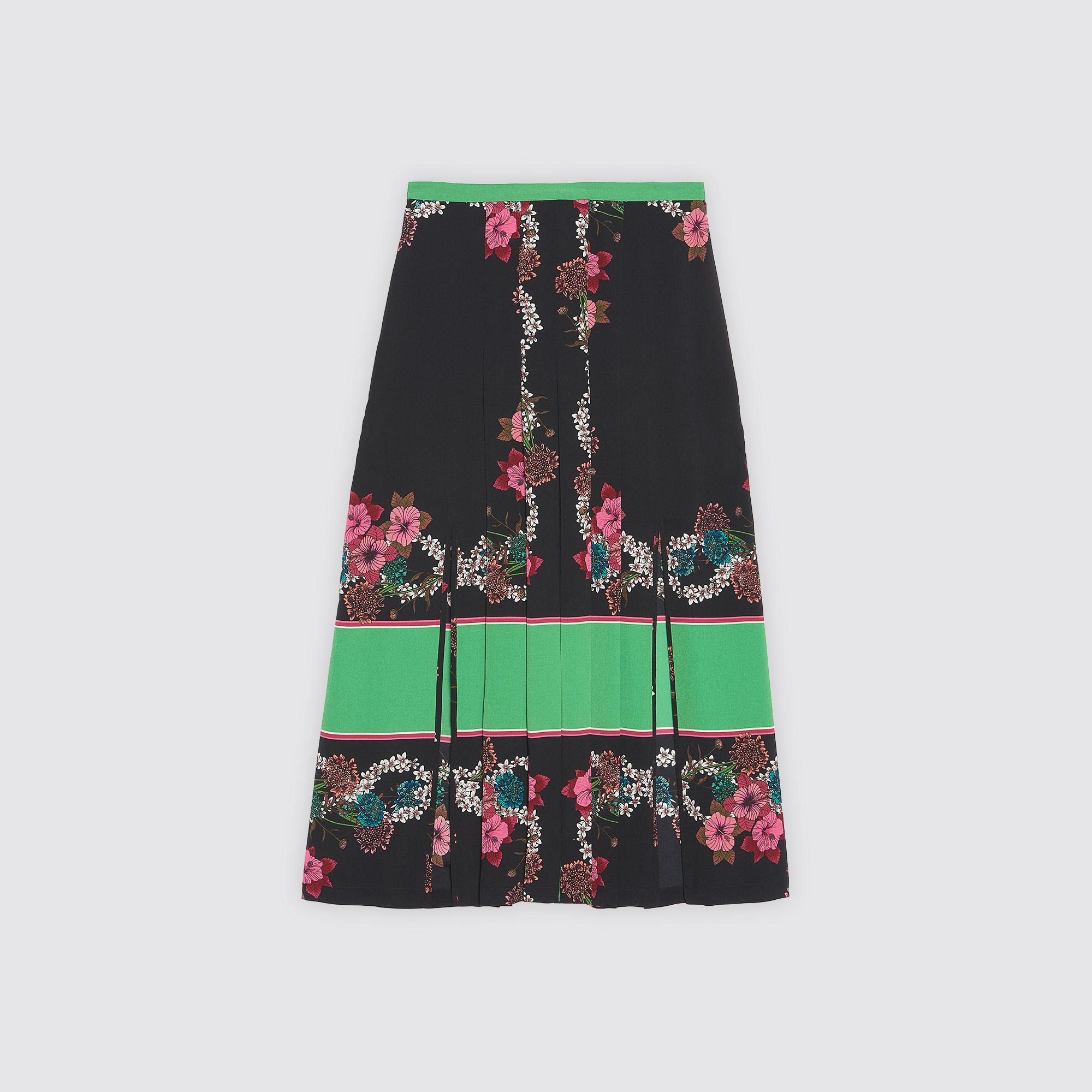 La Sortie Où Acheter Jupe mi-longue imprimée Multicolore SandroSandro Faible Coût De Sortie Footlocker Images La Vente En Ligne aaIHIrD