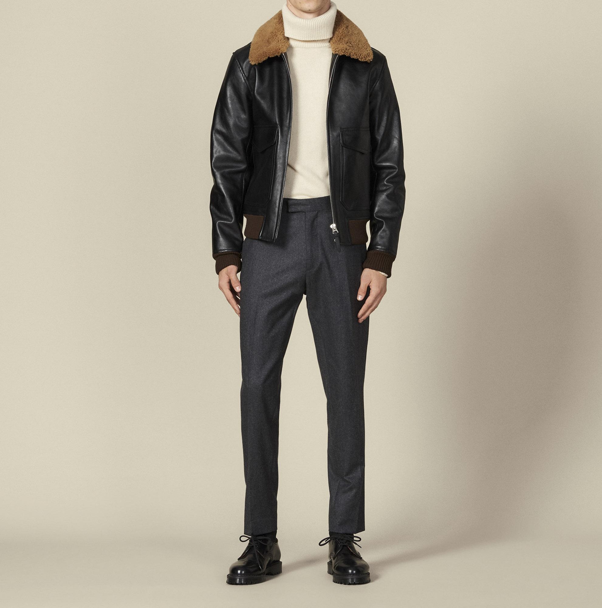 Veste aviateur Vestes en cuir Homme comparez et achetez