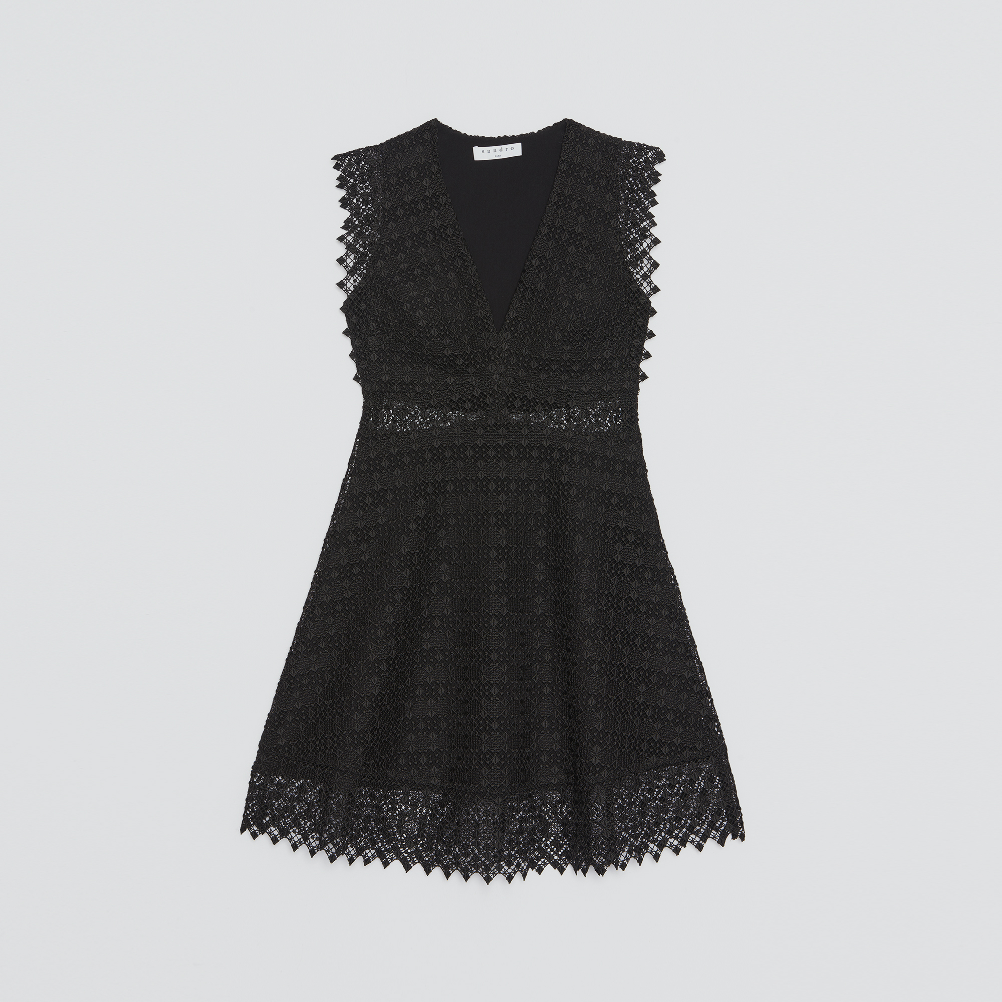 Sandro femme robe noire